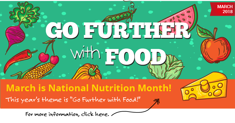 March is National Nutrition Month!